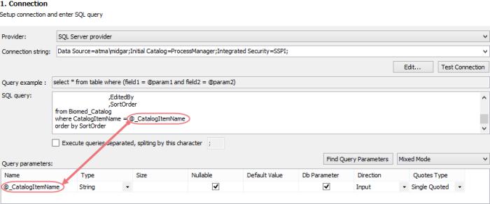 Typical SQL Integration Setup