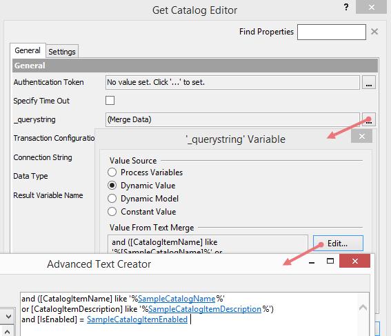Workflow SQL Integration Component Configuration