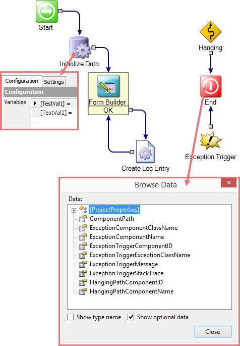 Symantec Workflow Variable Persistence